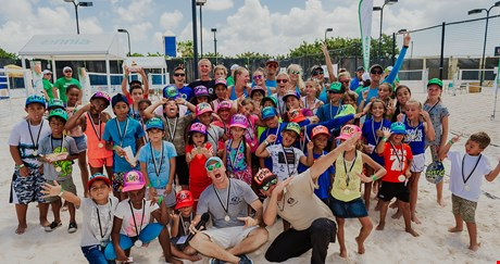 ENNIA Beach Tennis Kids Event 2017 in Aruba weer een succes
