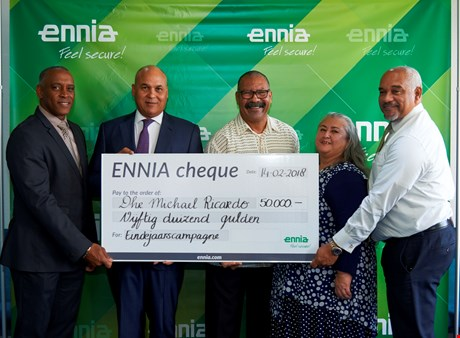 Winner of ENNIA's end-of-year campaign