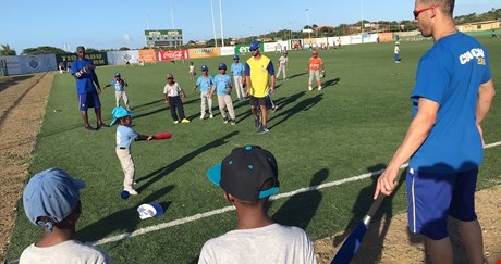 Hensley 'Bam Bam' Meulens verteld over de Curaçao Baseball Week 2018
