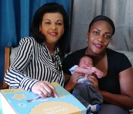 ENNIA welcomes the first-born baby in 2019 on Sint Eustatius