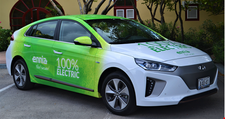 ENNIA has purchased its first electric car!