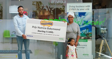 The winners of the Nutricia Baby Month 2020